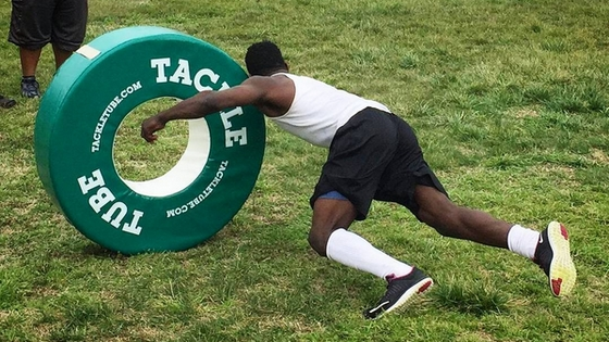 Tackle tubes promote good body position